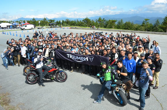 2016 Triumph National Rally開催のご案内