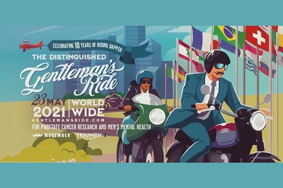 トライアンフとDistinguished Gentleman's Ride 10周年を記念して5月23日にソロライドイベント開催